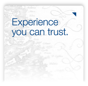 Experience you can trust.